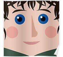 Frodo Square Poster