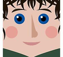 Frodo Square Photographic Print