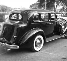 Black 4 Dr. Touring Sedan from the 30s by Debbie Robbins