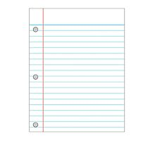 Notebook Paper by Amantine