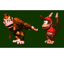 Donkey Kong Country - 5 Low Photographic Print