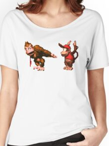 Donkey Kong Country - 5 Low Women's Relaxed Fit T-Shirt