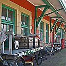 Conneaut Railroad Museum by Monnie Ryan