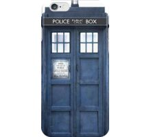 Tardis Blue - The Police Box iPhone Case/Skin