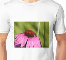 Visitor on a Coneflower Unisex T-Shirt