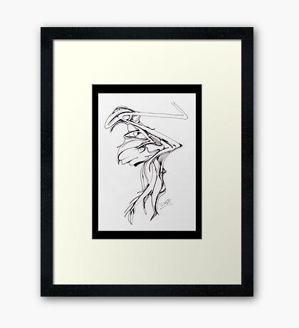ZAPPER Framed Print