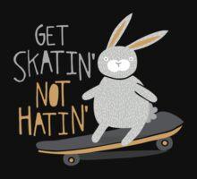 Get Skatin' Not Hatin' One Piece - Short Sleeve