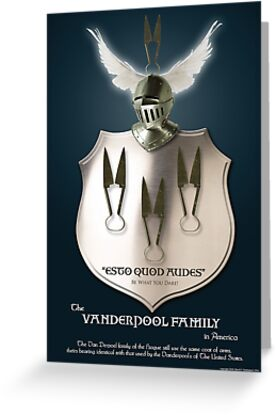 Vanderpool Coat of Arms by David J. Vanderpool