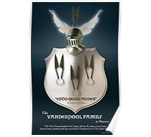 Vanderpool Coat of Arms Poster