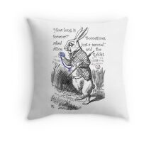 How Long Is Forever? Throw Pillow