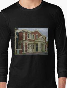 Surpeme Court Building, Launceston, Tasmania, Australia Long Sleeve T-Shirt