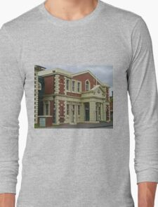 Surpeme Court Building, Launceston, Tasmania, Australia Long Sleeve T-Shirt
