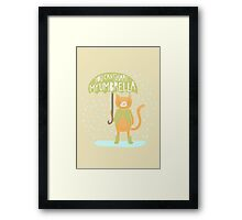 You Can Share My Umbrella Framed Print