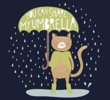 You Can Share My Umbrella Kids Tee