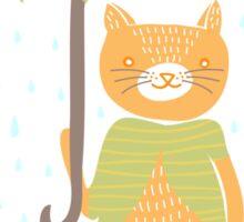 You Can Share My Umbrella Sticker