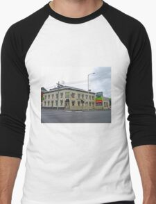 Pizza Pub, Launceston, Tasmania, Australia Men's Baseball ¾ T-Shirt