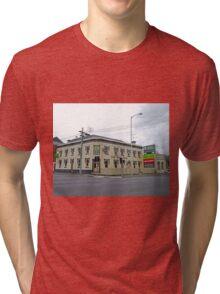 Pizza Pub, Launceston, Tasmania, Australia Tri-blend T-Shirt