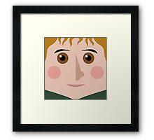 Sam Square Framed Print
