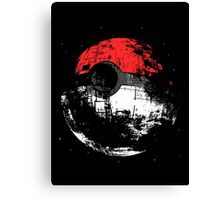 Pokemon/Star Wars Cross Over Canvas Print