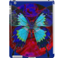 Psychedelia Illusions Take the Form of Butterflies iPad Case/Skin