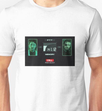 Metal Gear Solid Codec Call Unisex T-Shirt