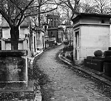 Père Lachaise Cemitière by Virginia Kelser Jones