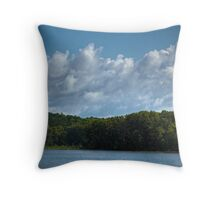 Moon Lake Cloudscape #1 Throw Pillow