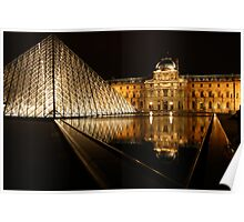 Night at the Louvre II Poster