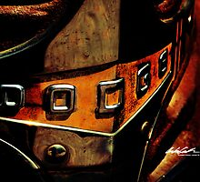 Rusty Dodge Truck-Distillery District Toronto by Andrew Connell