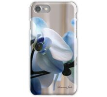 Crystal Blue Persuasion ~ Orchids iPhone Case/Skin