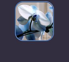 Crystal Blue Persuasion ~ Orchids Unisex T-Shirt