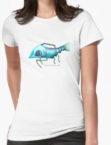 Iron Mantis Fish Womens Fitted T-Shirt