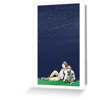 more things in heaven and earth Greeting Card