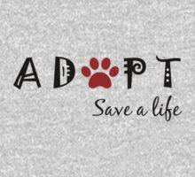 Adopt. Save a Life. Kids Clothes