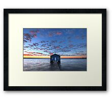 Crawley Boat House Framed Print