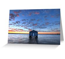 Crawley Boat House Greeting Card