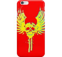 Skull with wings iPhone Case/Skin