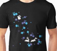 Japanese Bunny - Blue Unisex T-Shirt