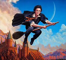 Harry Potter by Adam McDaniel