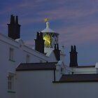 Lighthouse at Sunset by Steve plowman