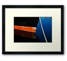 Black Hull Framed Print