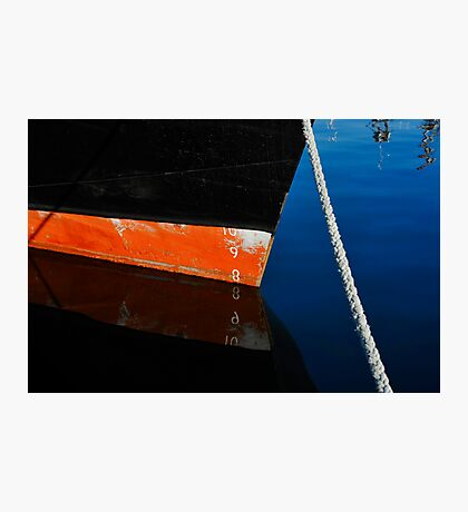 Black Hull Photographic Print
