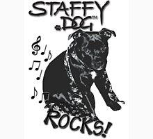 Staffy Dog Rocks! Unisex T-Shirt