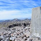 The Cairngorms - Trig Point on Ben Machdui by Rob Parsons