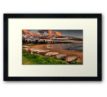Morning Light -  Long Reef , Sydney - The HDR Experience Framed Print