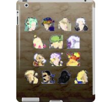 Faces of FFVI Abstract iPad Case/Skin