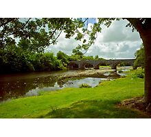 Bridge over the river feal Photographic Print