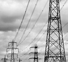 Pylons by AlexWood1995