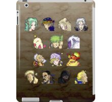 Faces of FFVI iPad Case/Skin