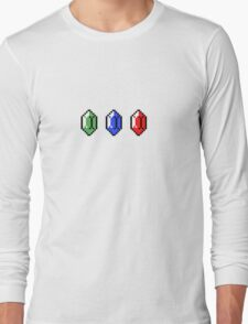 8 Bit Rupees Long Sleeve T-Shirt